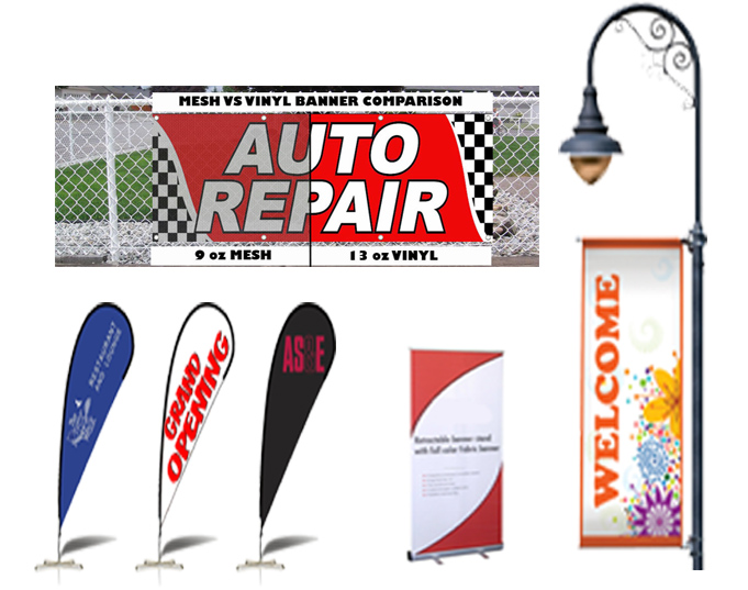 SpeedyPros Banners Provide Fast Functional Cost Effective Signage - Vinyl banners and signsexhibitiondisplay signs pvc banners roller banners flag